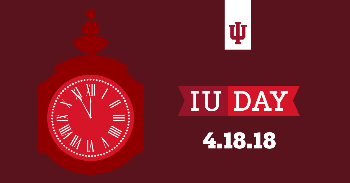 IU Day - Clock Animation image for social sharing